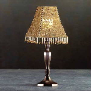 Lamps lanterns for Purple beaded lamp shade